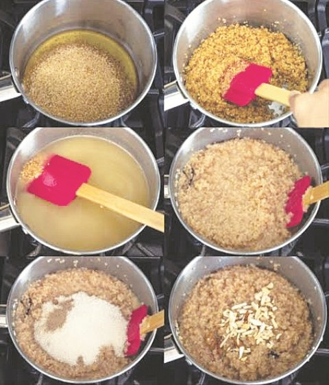 Lapsi - An overview traditional Indian (Rajasthani)  sweet